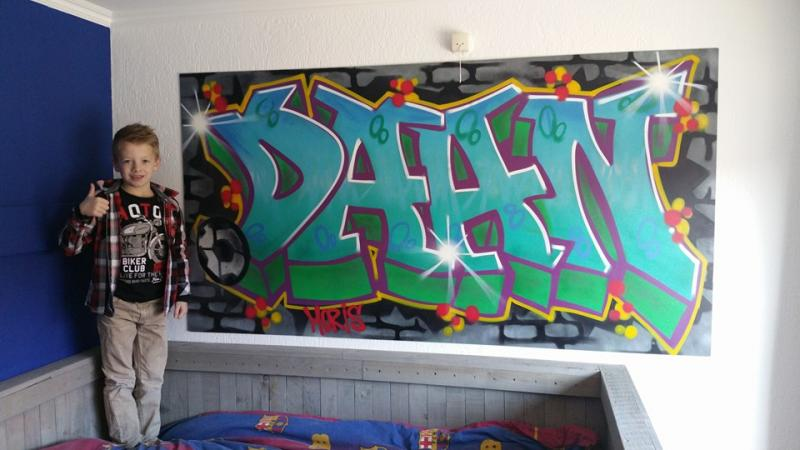 Graffiti painting DAAN