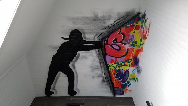 Graffiti paintings Boxmeer