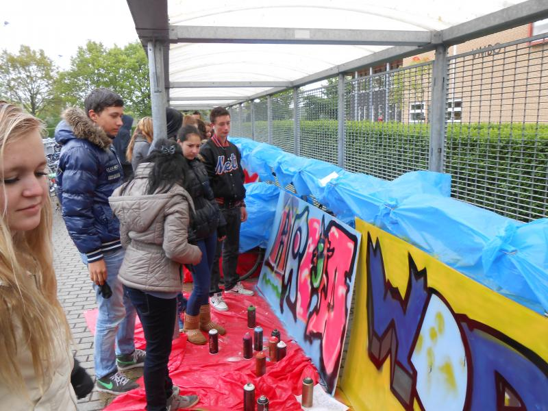 Workshop Graffiti MWC Wijchen Oosterweg