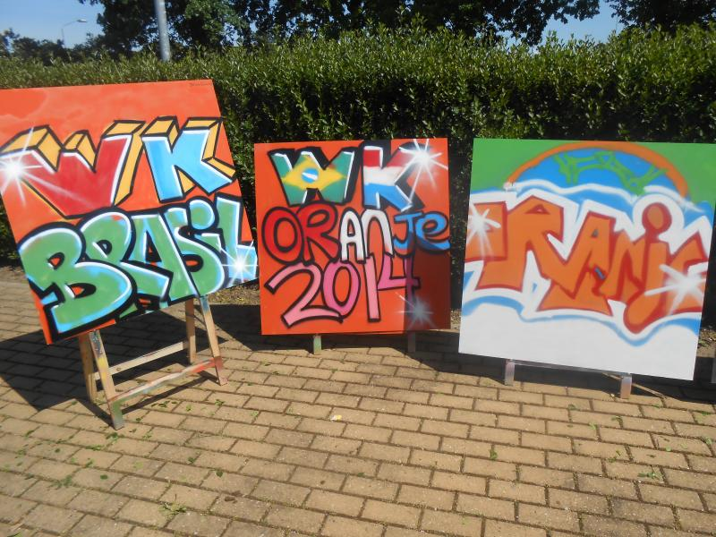 Workshop Graffiti Maas Waal Plus Wijchen