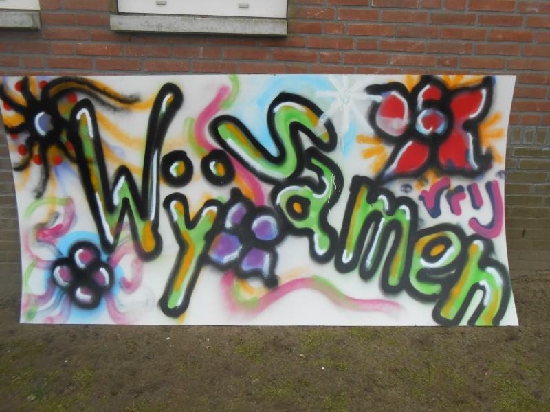 Workshop Graffiti jeugd BS Holthees