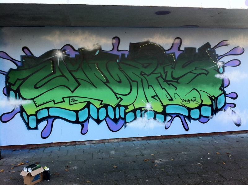 MORIS Graffitijam Drachten November 2014