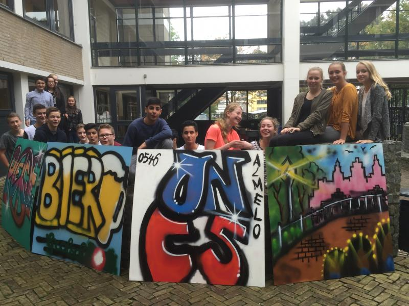 Workshop Graffiti in ALMELO 2015