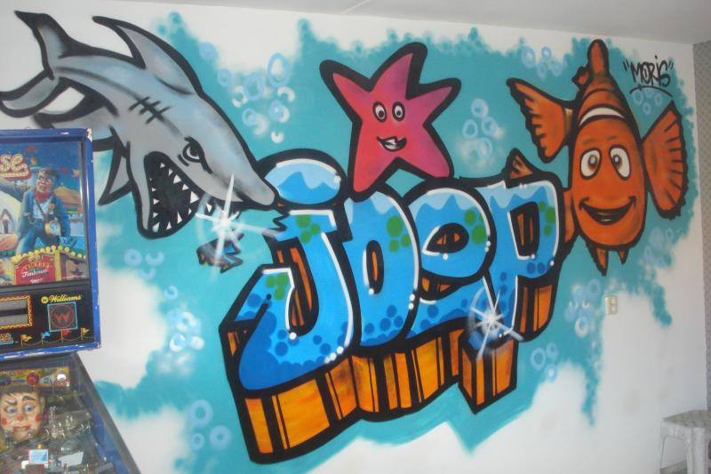 Opdracht on Graffiti Letters